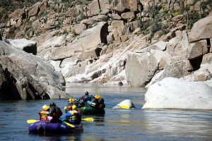 Granite Gorge Salt River Rafting Phoenix, AZ