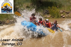 Spring time levels on the Family Friendly Animas