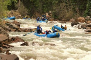 Mountain Waters Rafting 10 mile rapid Upper Animas River