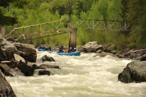Mountain Waters Rafting Broken Bridge Rapid Upper Animas River
