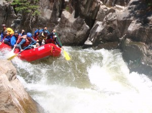 Lucifers, Lower Box Piedra, Mountain Waters Rafting, Durango, CO