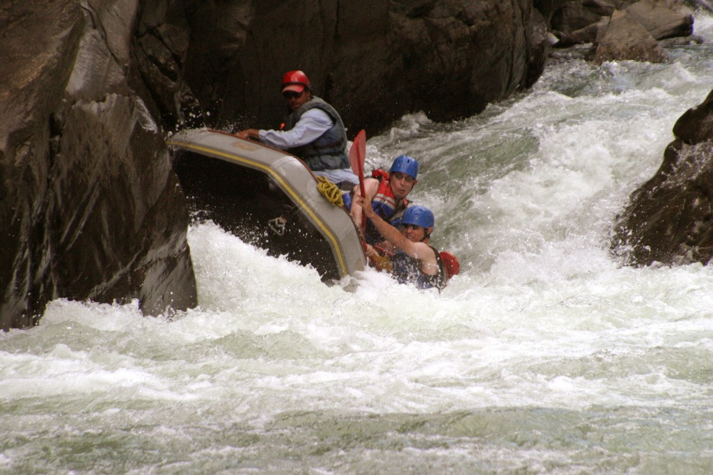 Entrance Rapid, Rockwood Box Gorge, Mountain Waters Rafting, Durango, CO