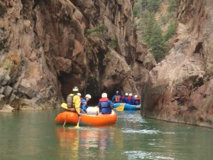 Rockwood Box Gorge, Upper Animas, Mountain Waters Rafting, Durango, CO