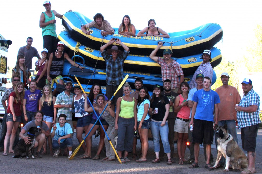 Mountain Waters Rafting Team of Most Excellence 2013