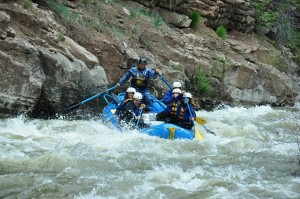 Rafters on the Piedra River Pagosa Springs Colorado