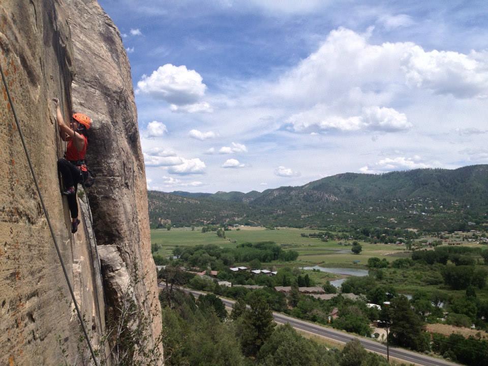 Rock Climbing IN Durango with Mountain Waters Rafting