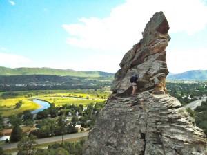 Climbing Scenery