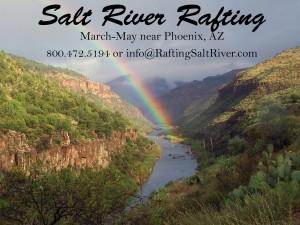 Salt River Rafting in Arizona Photos
