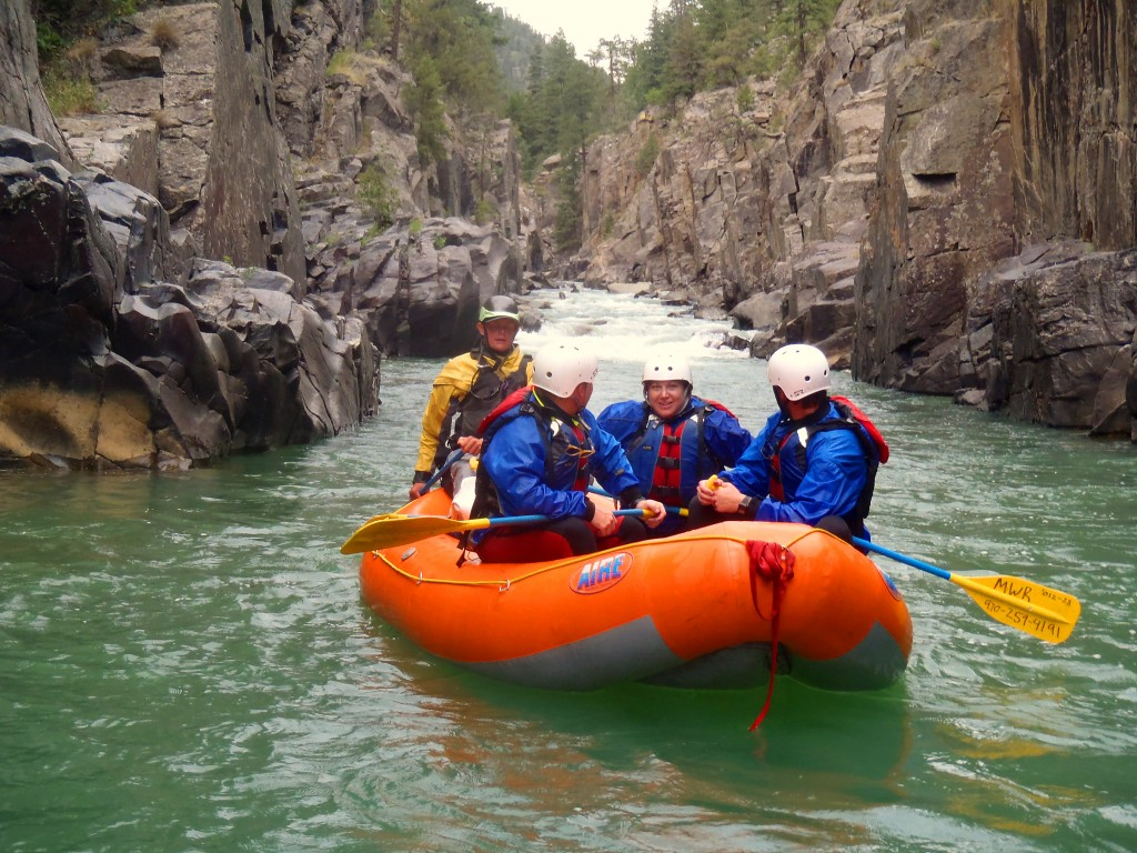 upper animas whitewater rafting