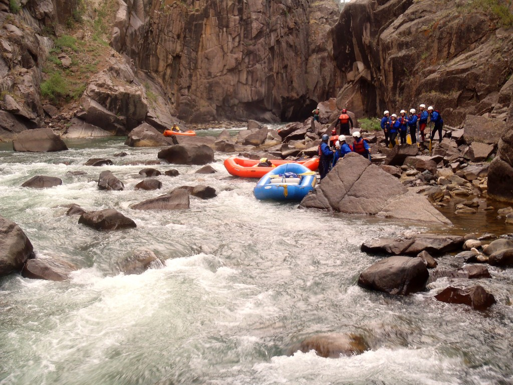 mountain waters rafting & the redwall rapid scout
