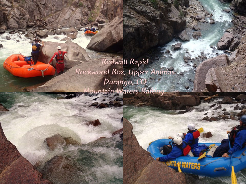 redwall rapid, upper animas, durango, colorado