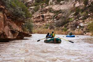 Rafting near Telluride on the San Miguel - Overnight Trip