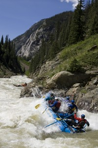 Snowshed Rapid, Upper Animas, Mountain Waters Rafting
