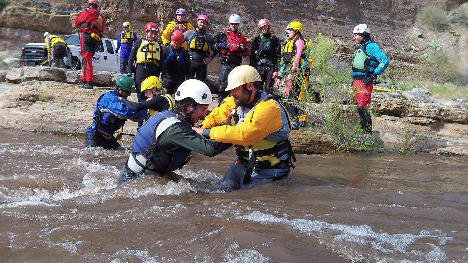 Swift Water Rescue Mountain Waters Rafting Durango Colorado
