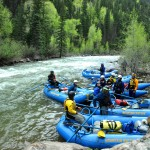 Upper Animas Silverton Section Mountain Waters Rafting Durango Colorado