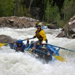 No Name Rapid with Mountain Waters Rafting Durango Colorado