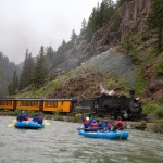 Rafts & Trains on the Upper Animas River Durango, Colorado