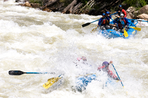 Mountain Waters Rafting 10 mile rapid Upper Animas River